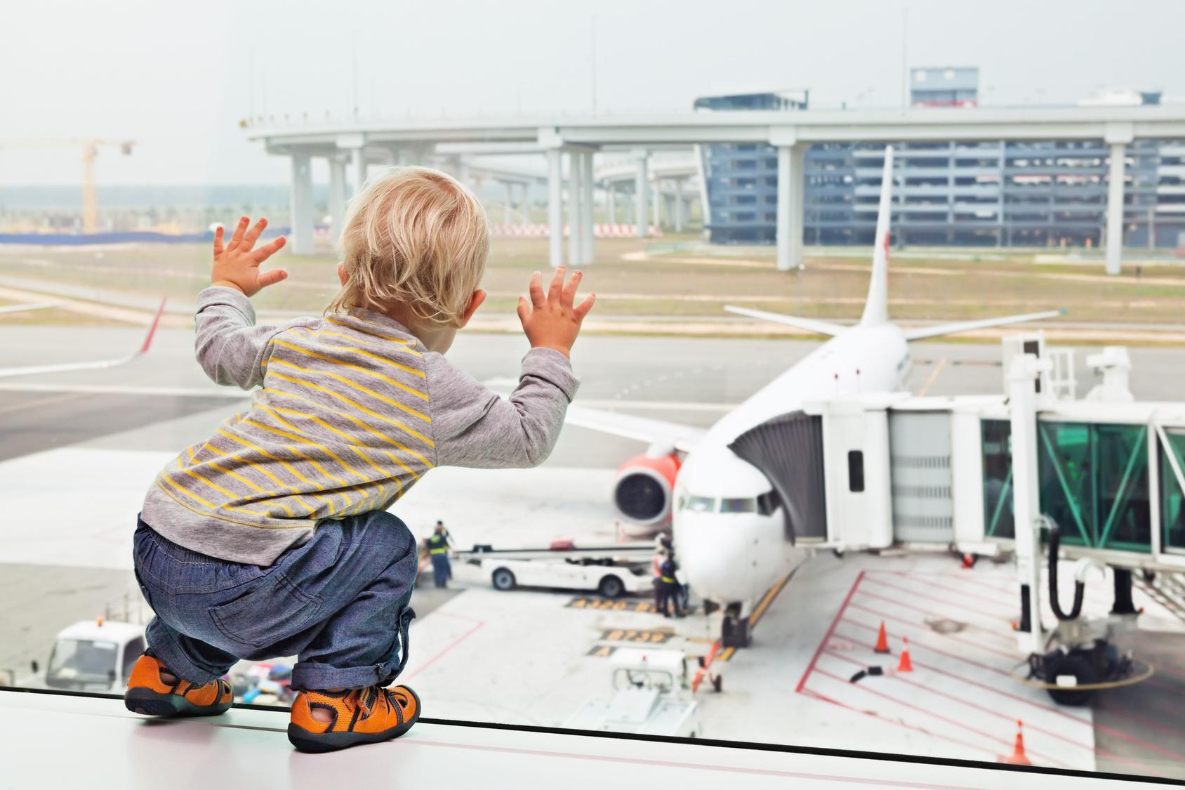Фото из аэропорта ребенка